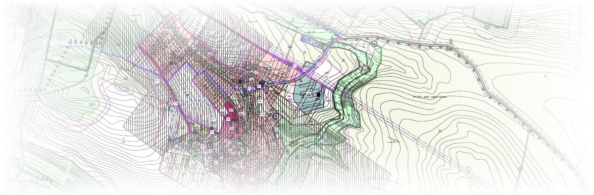 grafika územní mapa