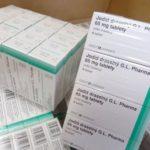 Výměna jodidových tablet