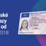 Řidičské průkazy od 1.července 2018