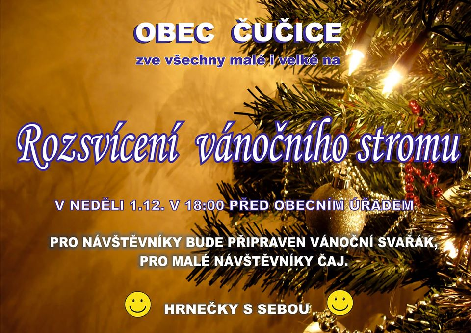 plakát vanoce strom 2019